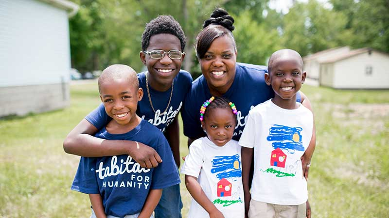 Habitat for Humanity ReStore builds homes with hard-working local families in need.